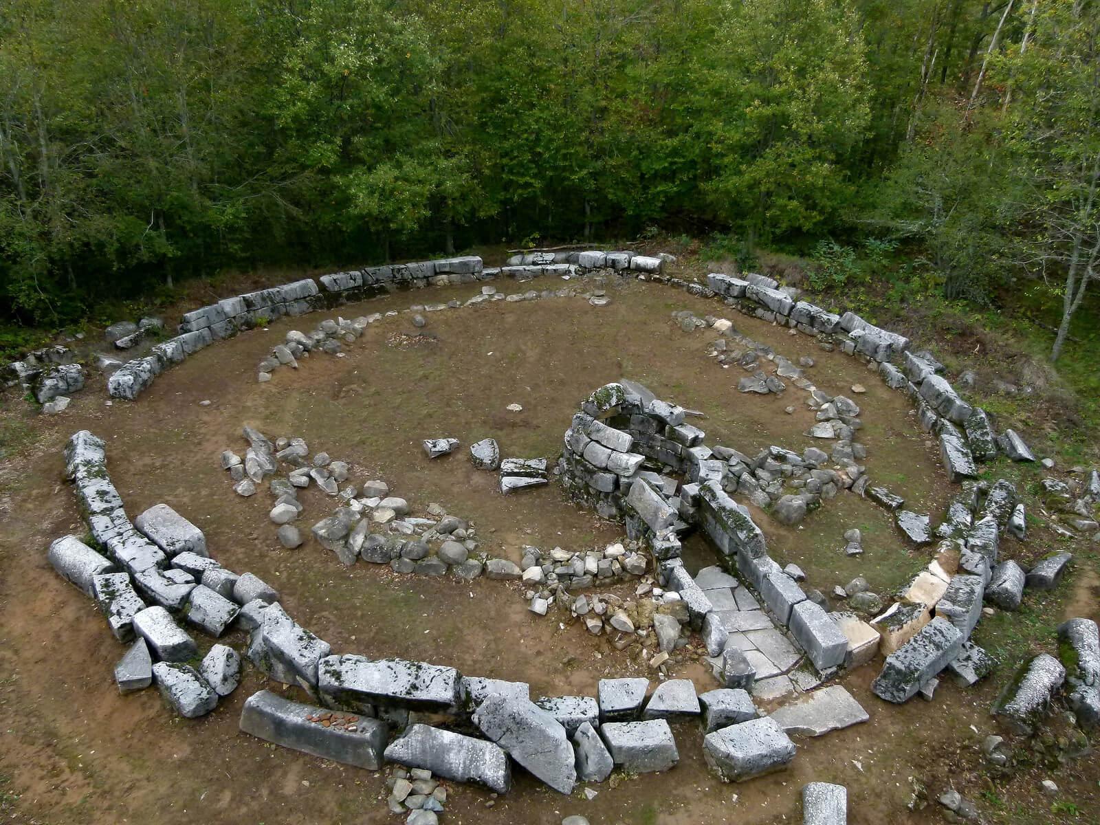 Thracian Sanctuary In Mishkova Niva Area Bulgaria 7