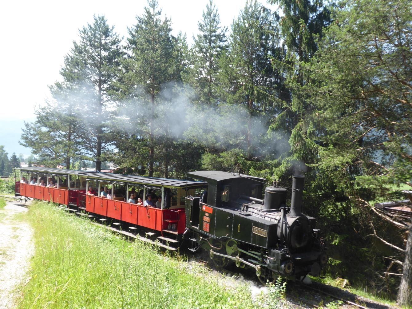 Achensee Steam Cog Railway, Tyrol, AUSTRIA - 7 MOST ENDANGERED